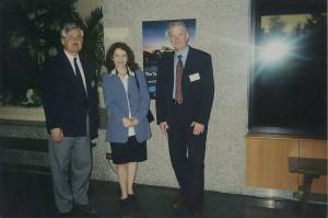 Spoločne na 10.kongrese európskych psychológov práce a organizácie (Praha 2001)
