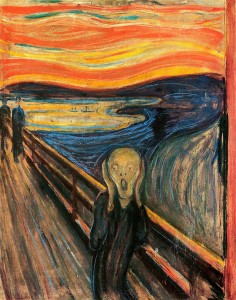 Edvard Munch: VÝKRIK (The_Scream or The Cry)