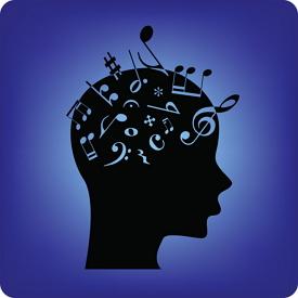 vnímanie hudby