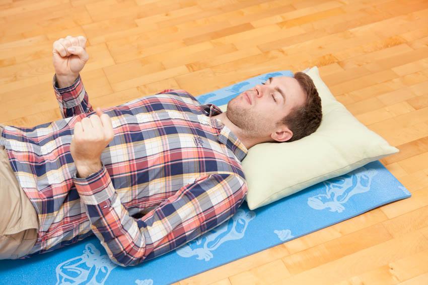 porovnanie svalového napätia s uvoľnením