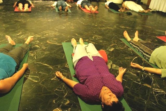 autogénny tréning skupinové cvičenie