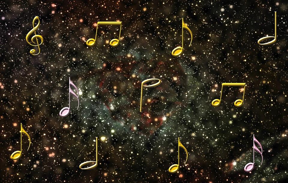 hudba okno do vesmíru