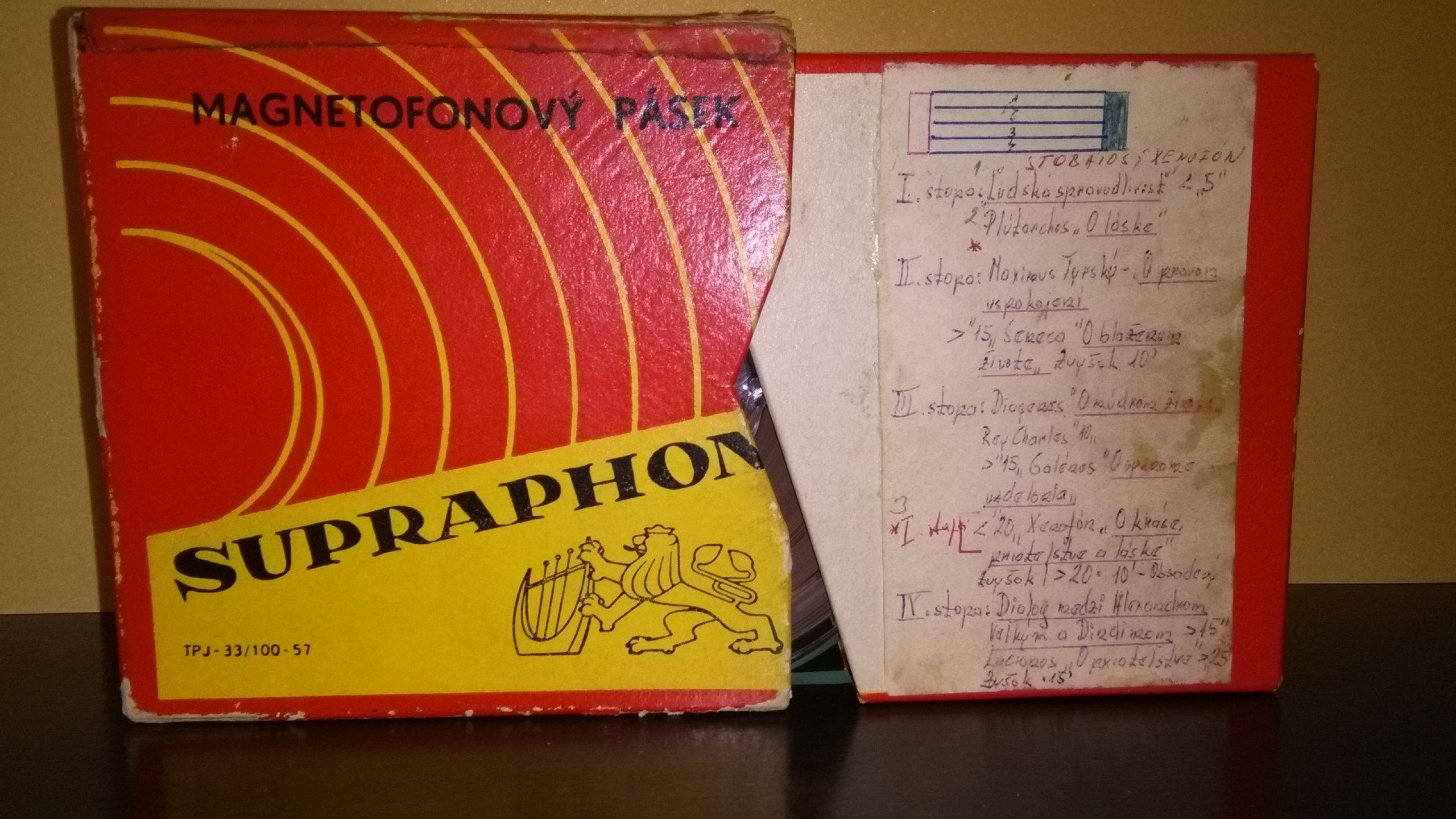 56 ročné záznamy z vysielania ANTICKEJ KNIHOVNE
