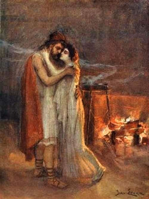 manželská láska v Starom Grécku