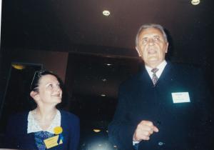 Milan Kubalák Kongres EAWOP_Praha 2001 ocenenie čských a slovenských psychológov práce