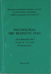 Spomienky na PhDr. Mariána Košča. Psychologické dni Trenčín 200
